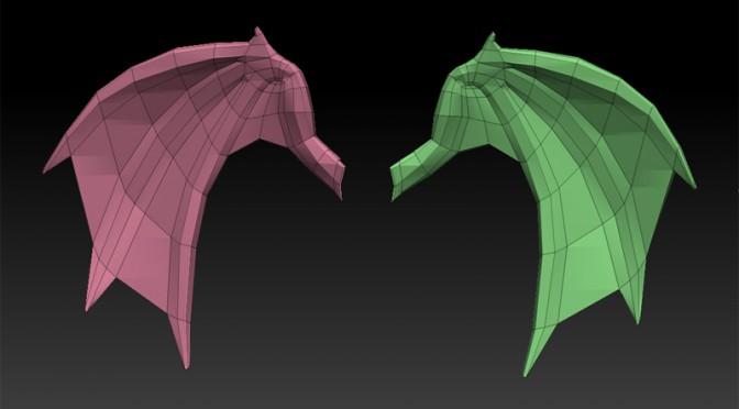 垂れ耳の翼